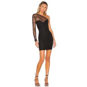 Nookie Monaco Mini Dress Bodycon Black Small
